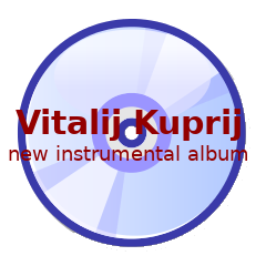 Vitalij Kuprij - new instrumental album